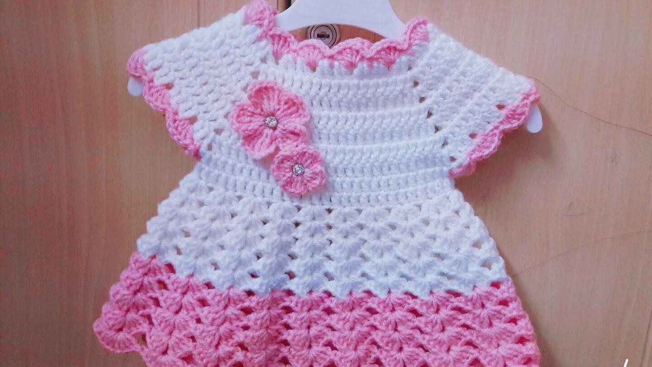 بالصور فساتين كروشيه , اختارى اجمل فستان كروشية لبنوتك 2814