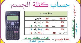 صوره كيفية حساب الوزن المثالي , الطريقة الامثل لحساب الوزن المثالي