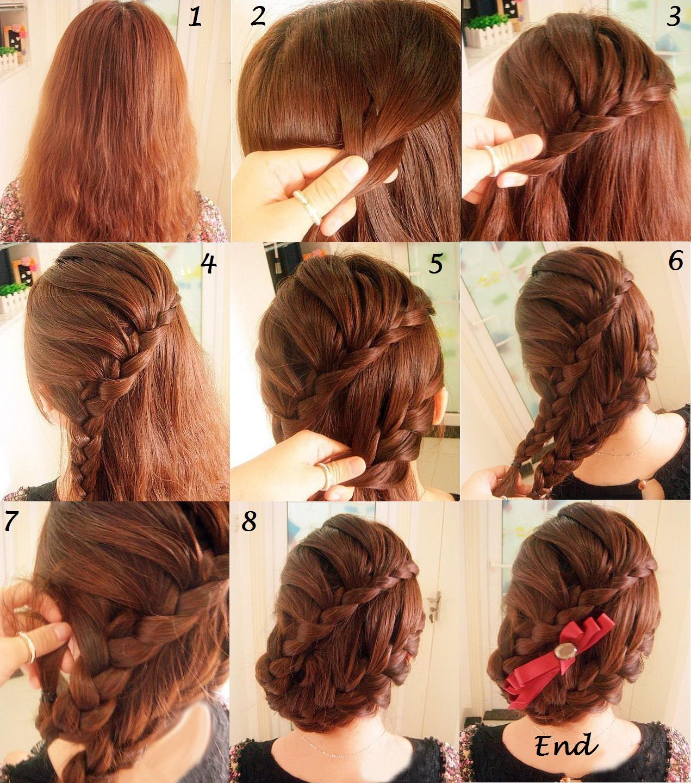 بالصور تسريحات شعر بسيطة , بالصور اجمل تسريحات الشعر 3740 12