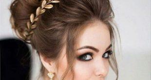 صوره تسريحات شعر عروس , اجمل تسريحات الشعر للعروسه