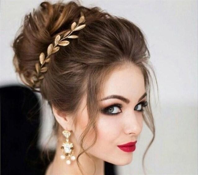 e5fac34b5 تسريحات شعر عروس , اجمل تسريحات الشعر للعروسه - صور بنات