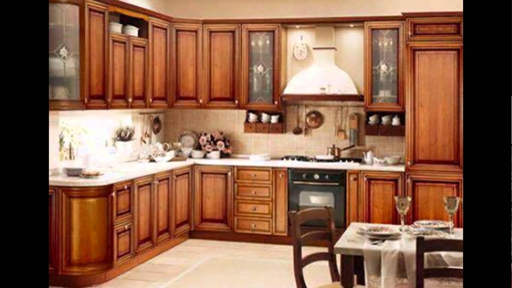 صورة تصاميم مطابخ صغيرة وبسيطة , ديكورات مهمة للمطبخ الخشب