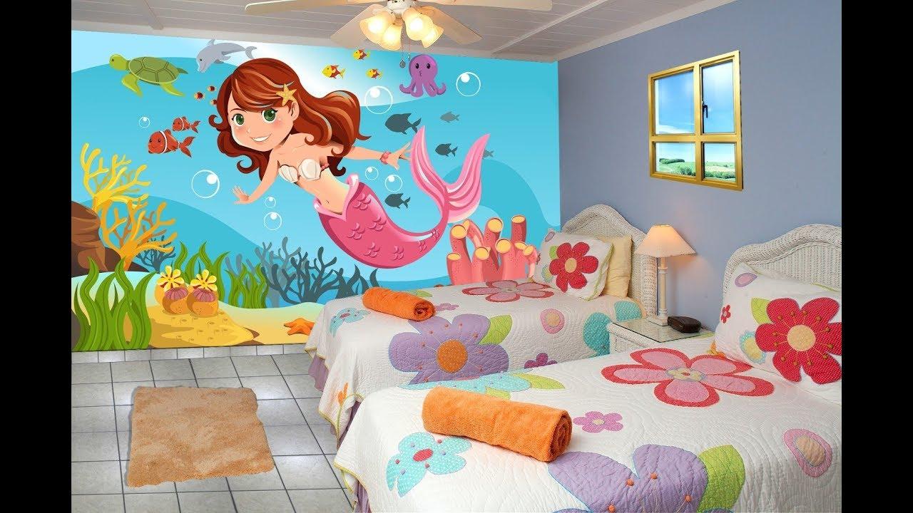 الوان غرف نوم اطفال , ديكوارت لغرف الاطفال