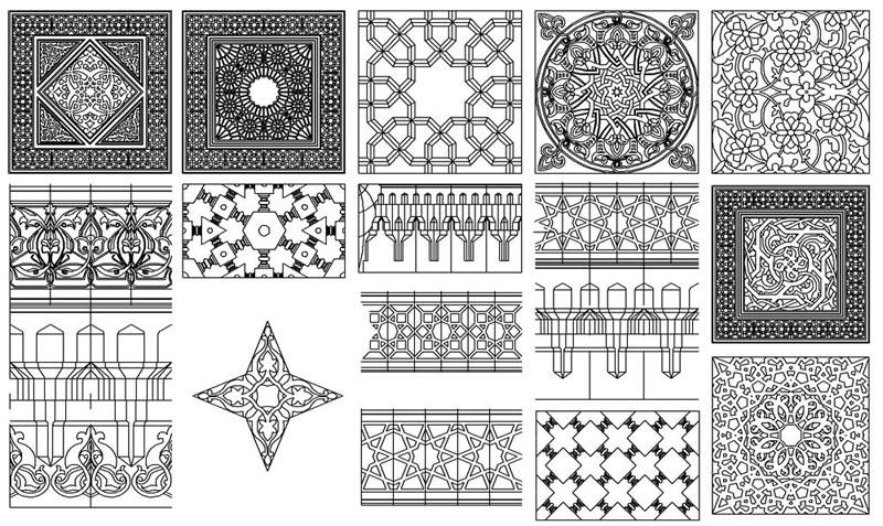 بالصور زخارف اسلامية , افضل انواع الزخارف الاسلامية 5382 4