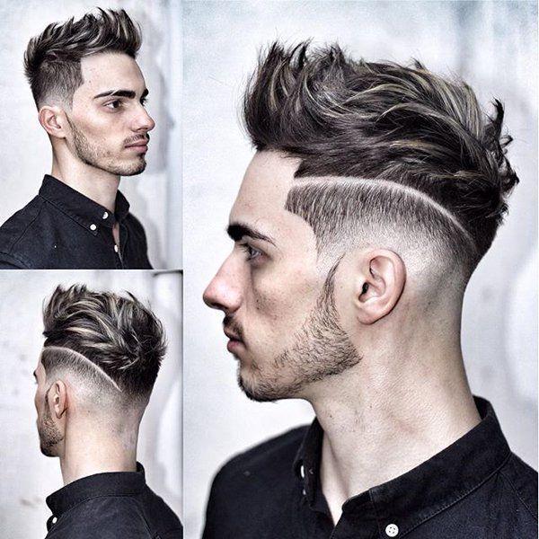 بالصور احدث قصات الشعر للرجال , اخر موضة فى قصات شعر الرجال 5429 8