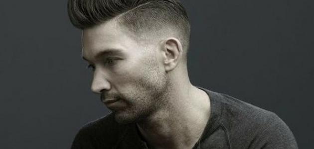 بالصور احدث قصات الشعر للرجال , اخر موضة فى قصات شعر الرجال 5429 9