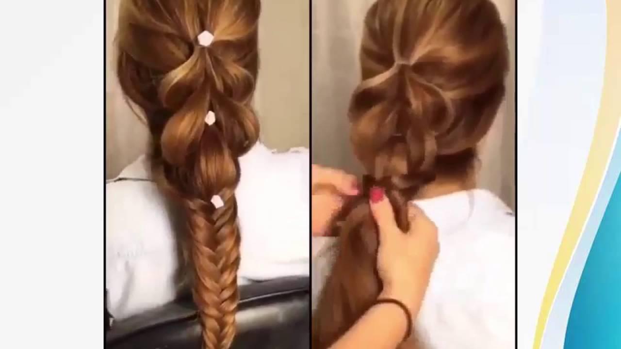 صورة تسريحات للشعر الطويل بسيطة , اجمل قصات لصاحبات الشعر الطويل 5527 1