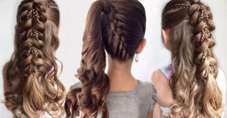 صورة تسريحات للشعر الطويل بسيطة , اجمل قصات لصاحبات الشعر الطويل 5527