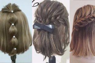 صورة تسريحات للشعر القصير , اختاري تسريحه شعرك القصير