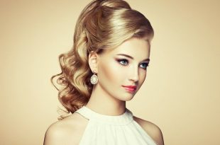 صور اجمل تسريحة شعر في العالم , اجمل طرق تزيين الشعر