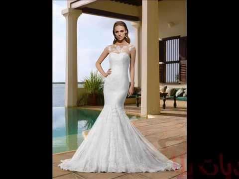 بالصور فساتين زفاف فخمه , احلى الفستاتين الجميلة 224 11