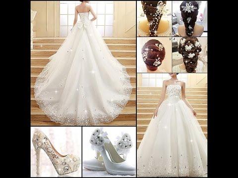 بالصور فساتين زفاف فخمه , احلى الفستاتين الجميلة 224 4
