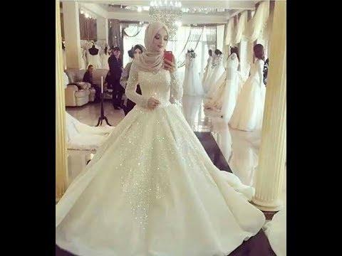بالصور فساتين زفاف فخمه , احلى الفستاتين الجميلة 224 7