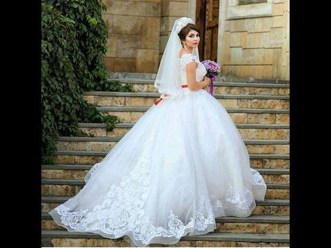 بالصور فساتين زفاف فخمه , احلى الفستاتين الجميلة 224