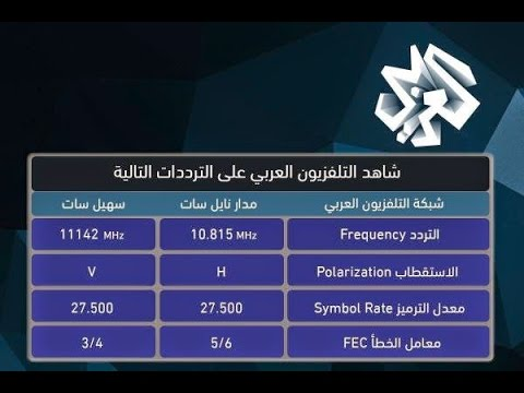 بالصور تردد قناة الجزيرة الجديد على النايل سات اليوم , اجمل الترددالت السريعة لقناة الجزيرة 278 2