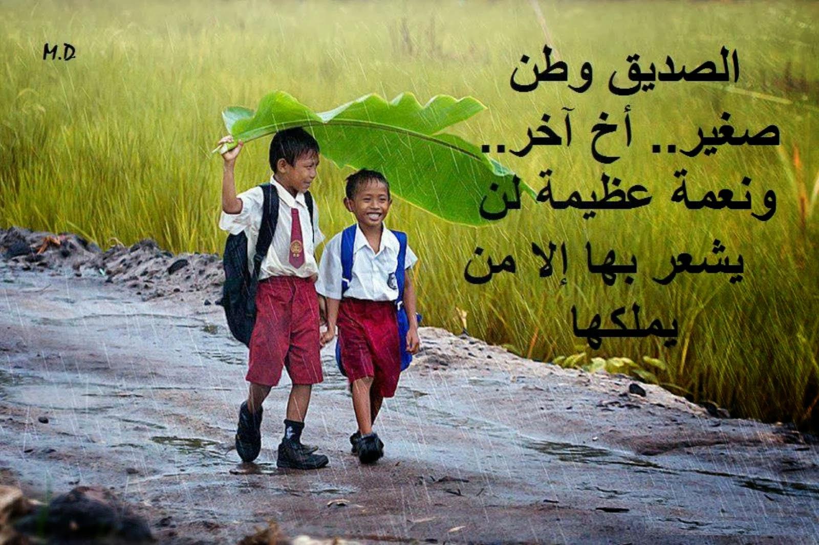 بالصور عبارات عن الصداقة قصيرة , كلام عن الصداقه جميل 3456 5