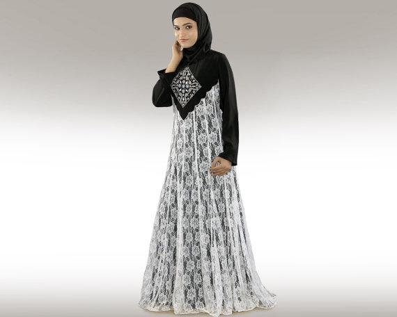 بالصور عبايات سعودية , احدث موديلات العبايات السعوديه 3551 5