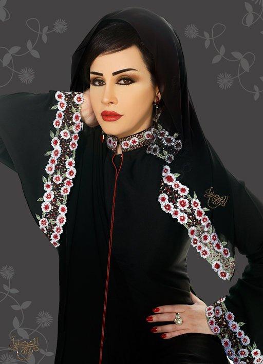 بالصور عبايات سعودية , احدث موديلات العبايات السعوديه 3551 6