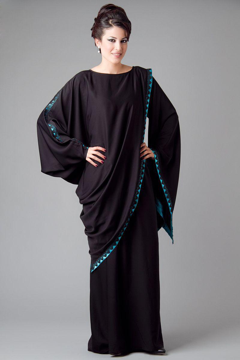 بالصور عبايات سعودية , احدث موديلات العبايات السعوديه 3551