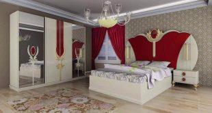 صور غرف نوم للعرسان كامله , غرف نوم مودرن لاجمل العرايس كامله
