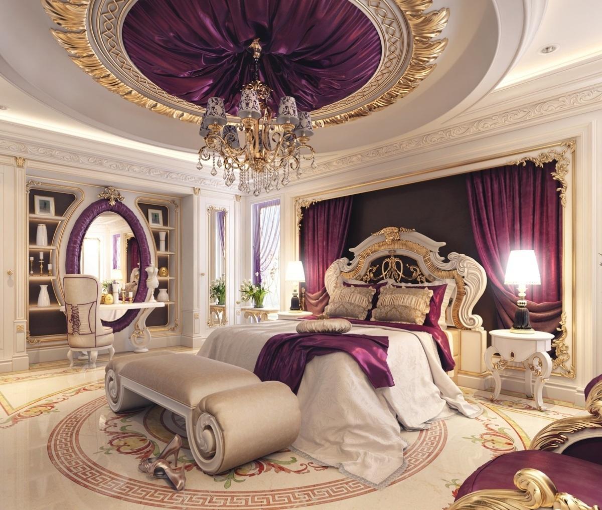 بالصور اجمل ديكورات غرف النوم , ديكورات غرف نوم راقيه 3568 2