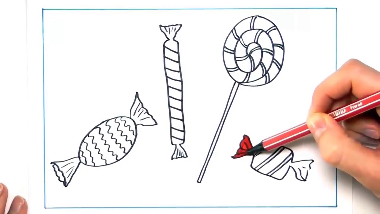 بالصور رسم سهل جدا , تعلم الرسم السهل جدا 3594 10