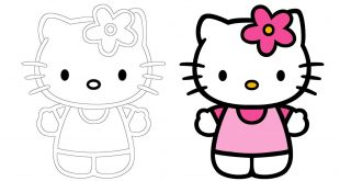 صورة رسم سهل جدا , تعلم الرسم السهل جدا