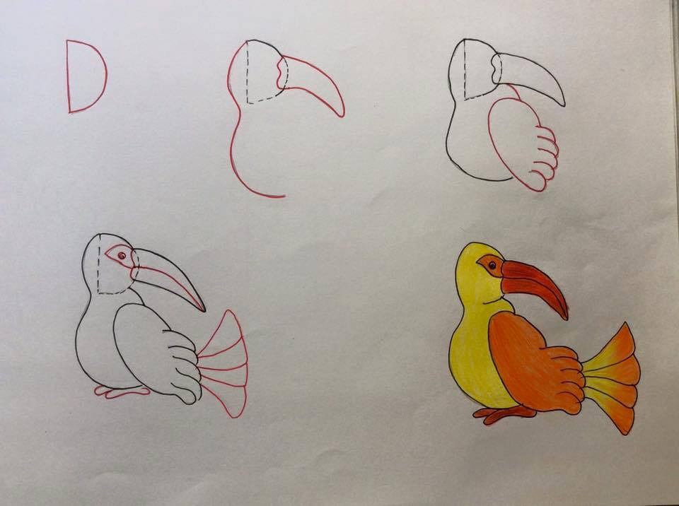 بالصور رسم سهل جدا , تعلم الرسم السهل جدا 3594 2