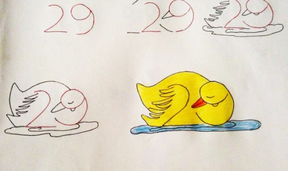 بالصور رسم سهل جدا , تعلم الرسم السهل جدا 3594 3