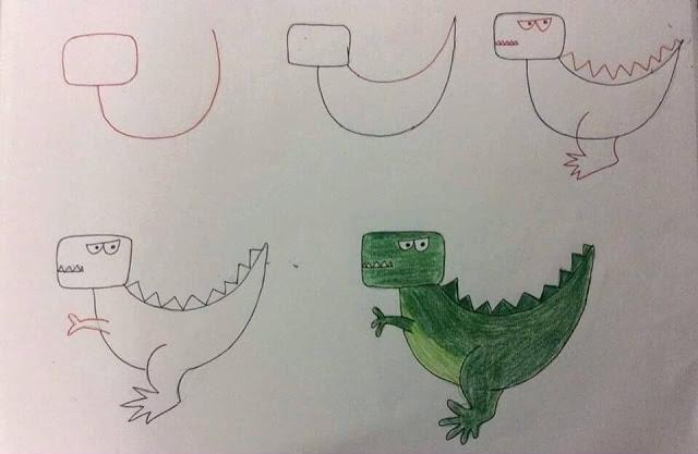 بالصور رسم سهل جدا , تعلم الرسم السهل جدا 3594 9