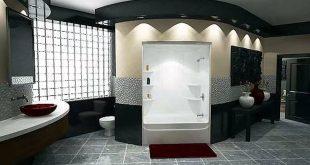 بالصور ديكورات حمامات بسيطة , ابسط ديكورات وتصميمات لحمامات مودرن 3658 16 310x165