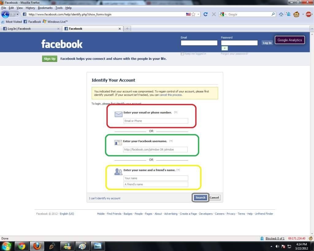 بالصور نسيت كلمة سر الفيس بوك , توضيح معرفه كيفه استرجاع كلمه السر للفيس بوك فى حاله نسيانها 3674