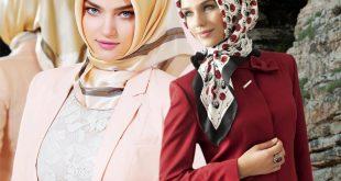 صور موديلات حجابات تركية , اجمل تشكيله لموديلات الحجاب التركى