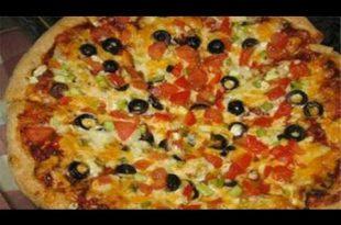 بالصور عمل البيتزا , اجمل الوجبات الغذائية الجميلة 400 3 310x205