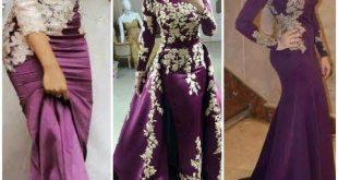 بالصور فساتين سهرة 2019 للمحجبات , اروع الفساتين الرقيقة الجميلة 523 12 310x165