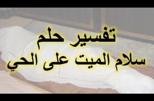 صورة السلام على الميت في المنام , تفسير المصافحه للميت فى المنام