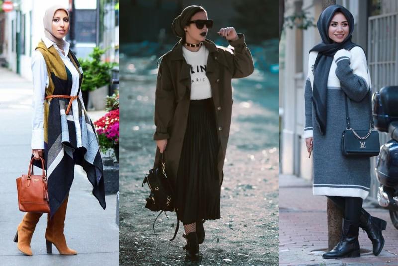 بالصور ملابس محجبات 2019 , ملابس المحجبات موضة 751 4