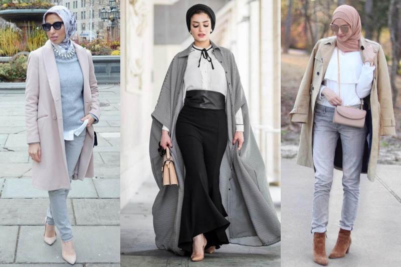 بالصور ملابس محجبات 2019 , ملابس المحجبات موضة 751 5