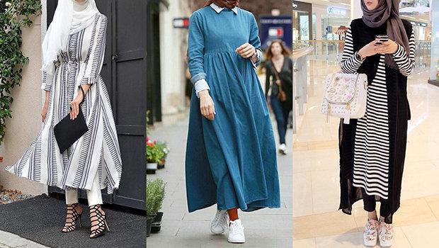 بالصور ملابس محجبات 2019 , ملابس المحجبات موضة 751 9