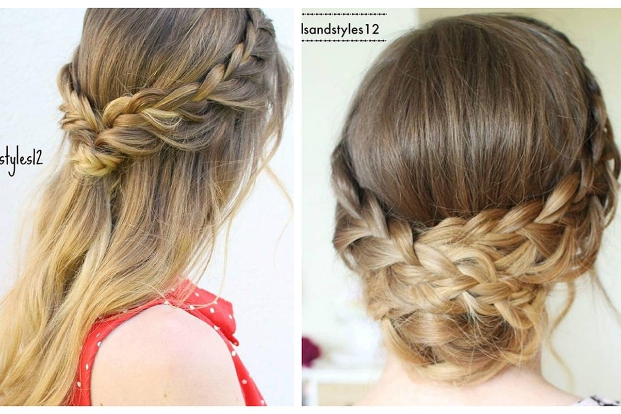 صورة تسريحات شعر بسيطة , بالصور اجمل تسريحات الشعر