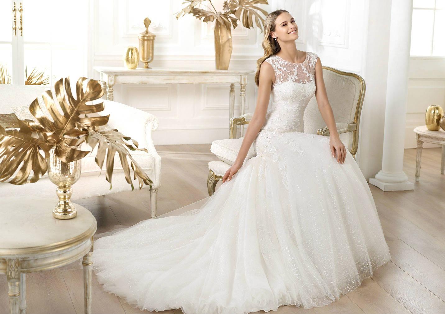 بالصور احدث فساتين الزفاف , موديلات فساتين زفاف جديده لعام 2019 3724 11