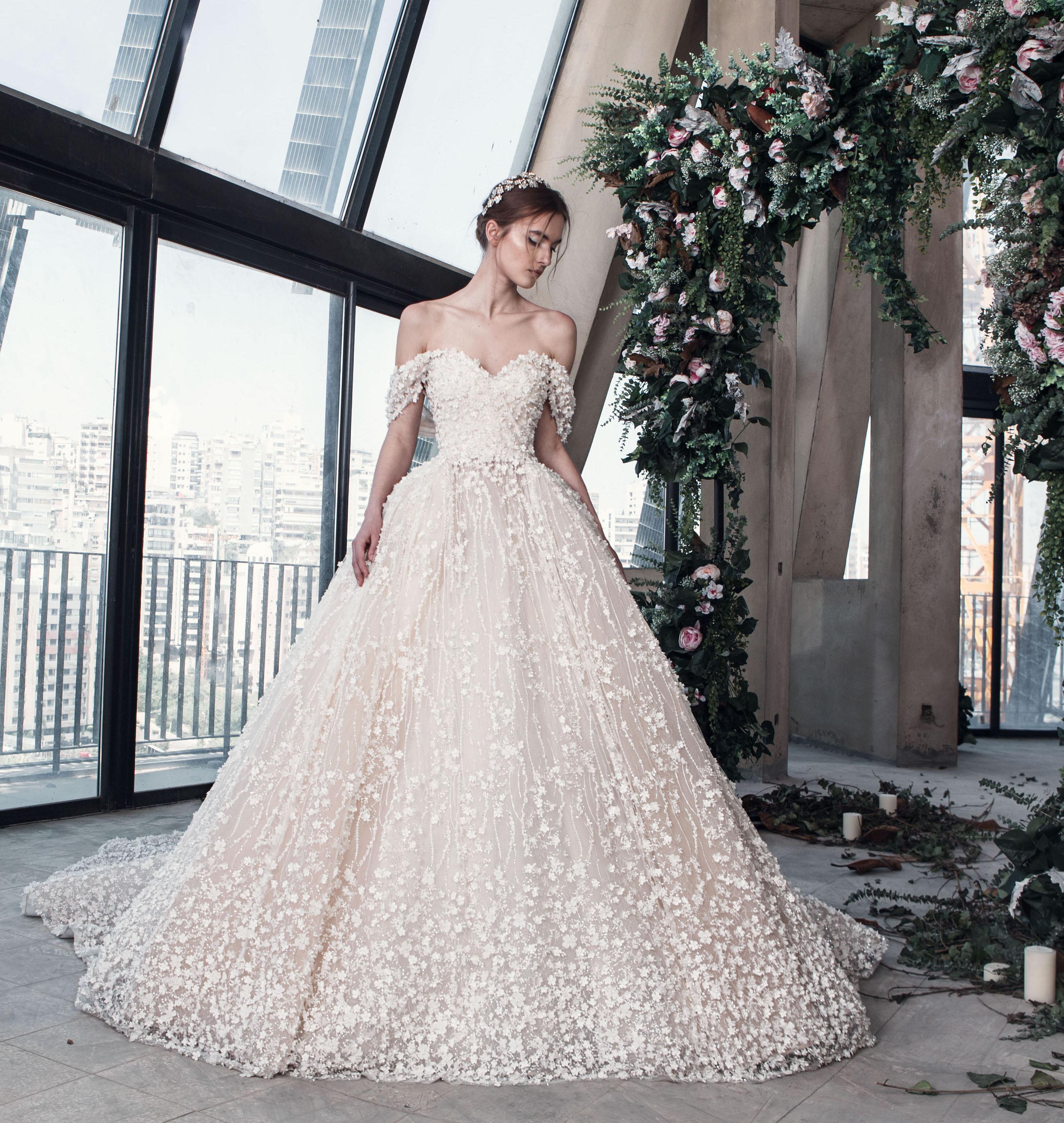 بالصور احدث فساتين الزفاف , موديلات فساتين زفاف جديده لعام 2019 3724 5