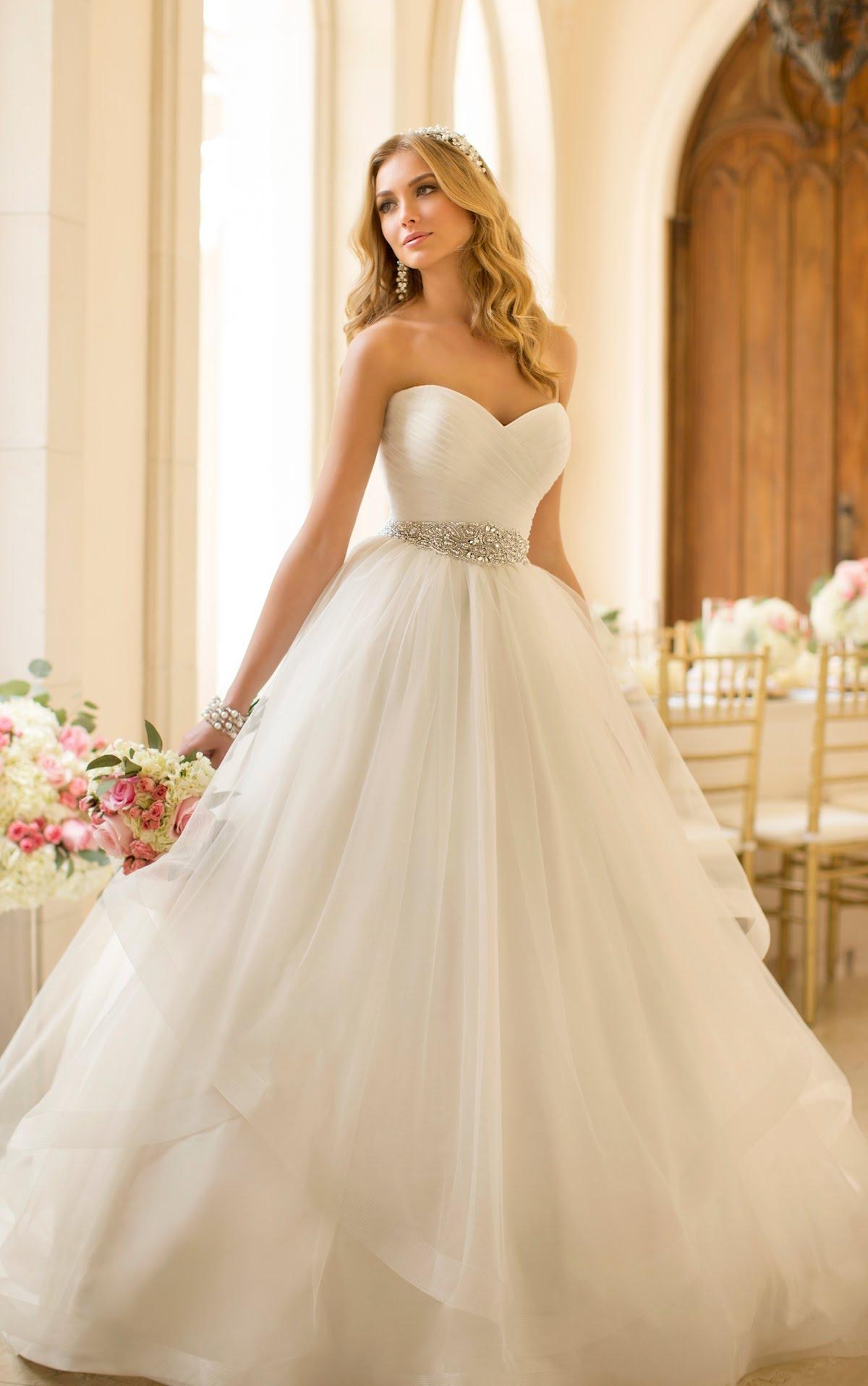 بالصور احدث فساتين الزفاف , موديلات فساتين زفاف جديده لعام 2019 3724 6