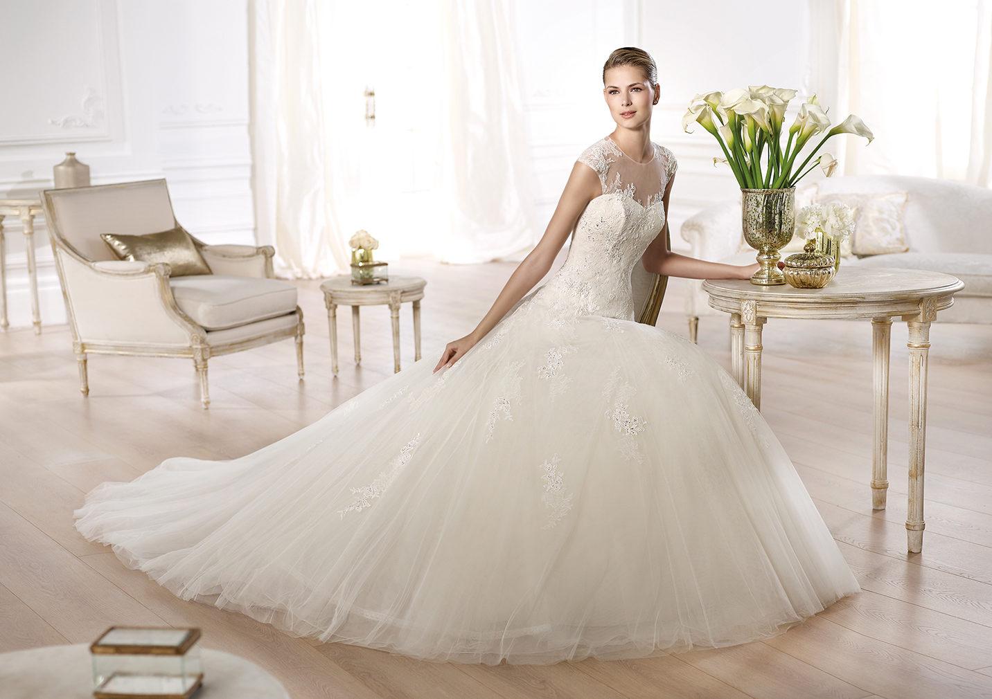 بالصور احدث فساتين الزفاف , موديلات فساتين زفاف جديده لعام 2019 3724 8