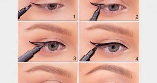 صورة كيف رسم العين , طريقه سهله وبسيطه جدا لرسم العين