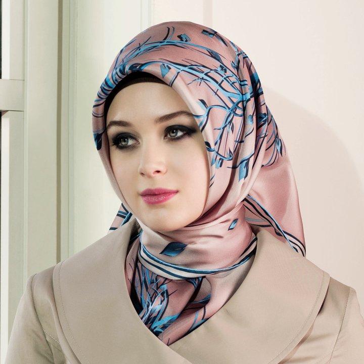 صور طريقة الحجاب التركي , لفات رائعه ومختلفه للطرح التركية