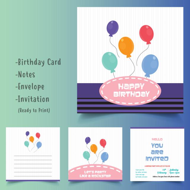 صور بطاقات دعوة عيد ميلاد جاهزة , اجمل بطاقات دعوه باشكال رائعه