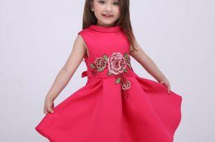 صورة احدث فساتين للبنات , اجمل الفساتين الرائعه للبنات