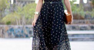 بالصور فساتين صيفية طويلة , اجمل الفساتين الصيفيه الطويله 12568 14 310x165