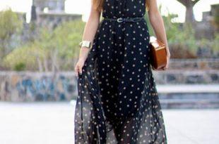 بالصور فساتين صيفية طويلة , اجمل الفساتين الصيفيه الطويله 12568 14 310x205